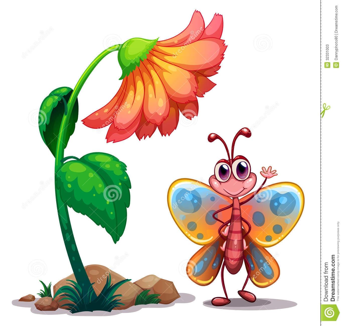 1368x1300 Clip Art Clip Art Butterflies And Flowers
