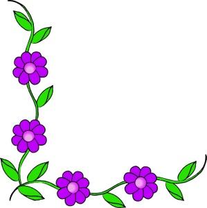299x300 Spring Flower Butterfly Vector Illustration Molly Bloom