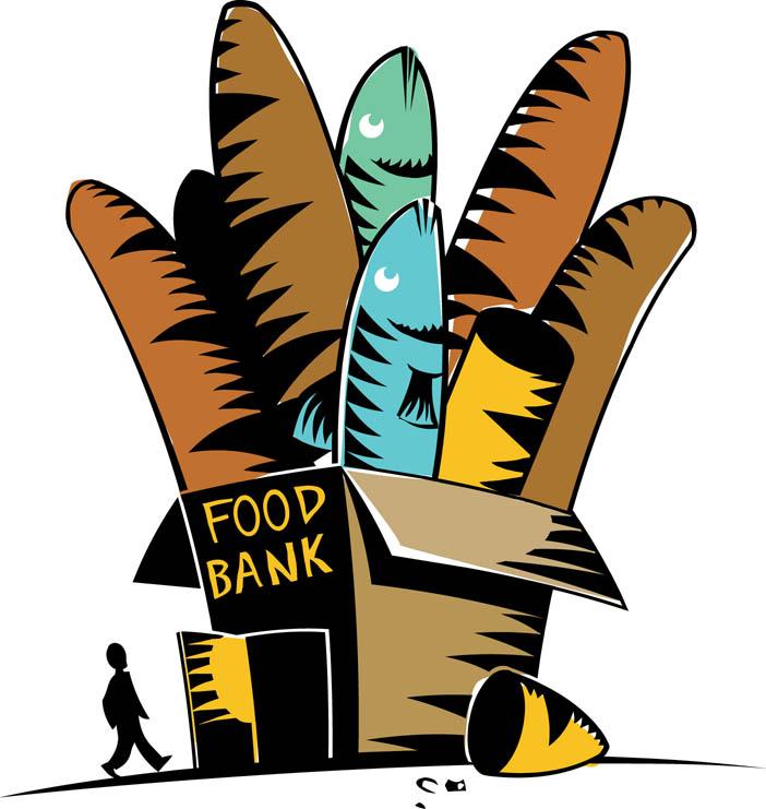 702x741 Food Bank Clipart