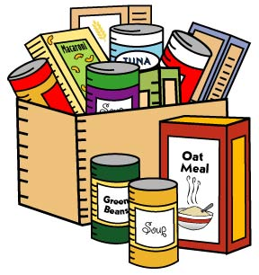 288x306 Collection Of Non Perishable Food Items Clipart High Quality