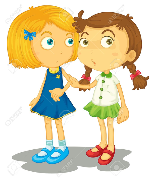 514x600 Two Friends Together Clipart Free Images