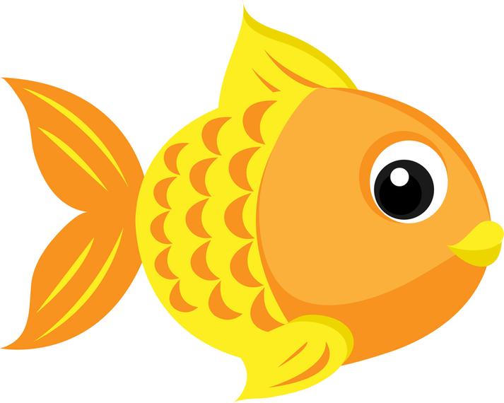 713x570 Goldfish Clipart
