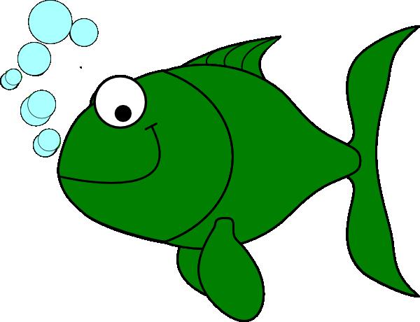 600x460 Green Cartoon Fish Greenfish Clip Art Green With Envy