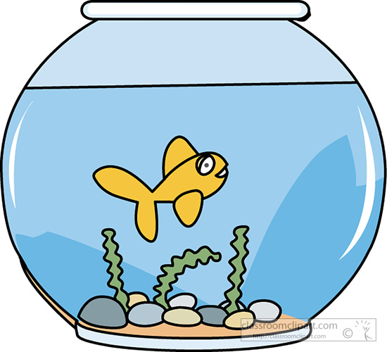 550x500 Fish Bowl Clipart Fish Clipart Clipart Fish Bowl With Swimming