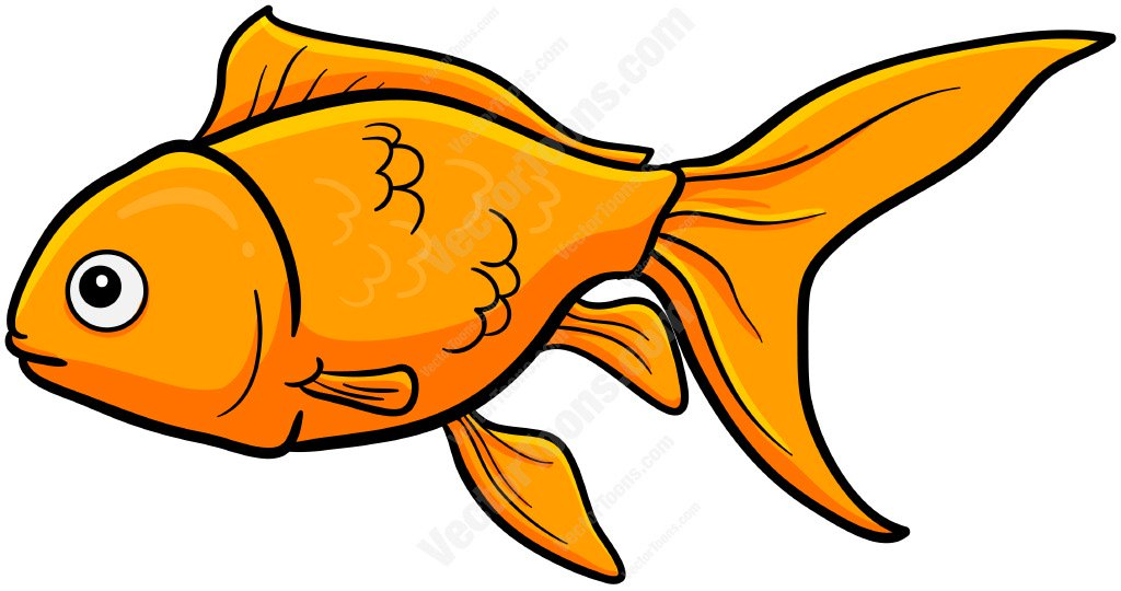 1024x540 Goldfish Clip Art Swimming Goldfish Cartoon Clipart Vector Toons