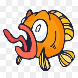 260x260 Cartoon Goldfish Clip Art
