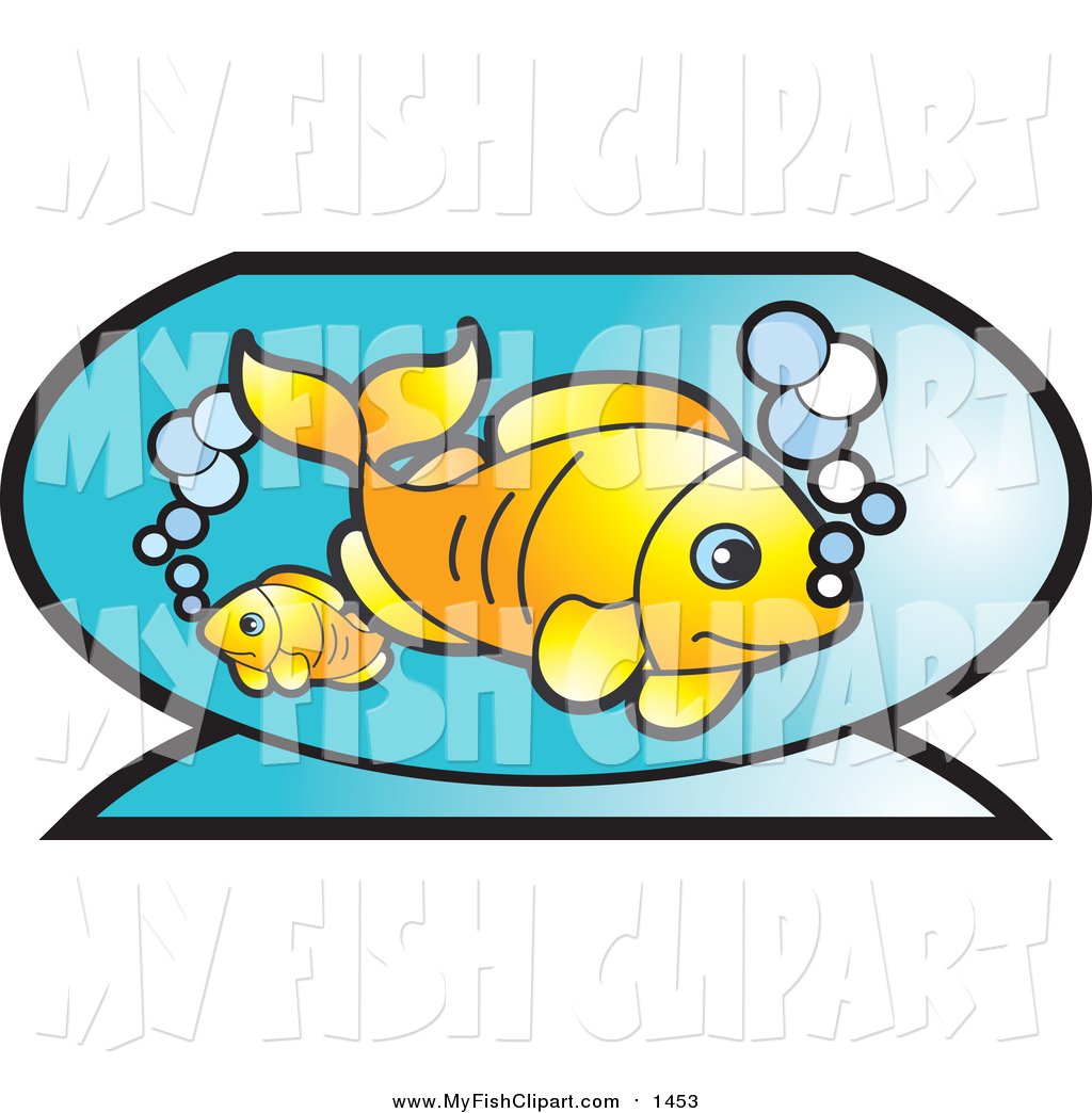 1024x1044 Clip Art Of Goldfish And Bubbles In A Bowl By Lal Perera