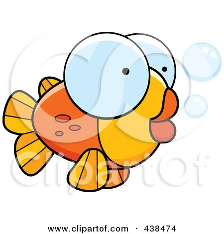 450x470 Clipart Angry Goldfish