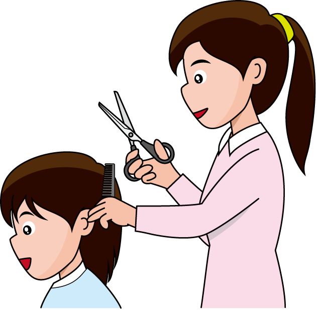 631x617 Hair Cut Clip Art Amp Look At Hair Cut Clip Art Clip Art Images