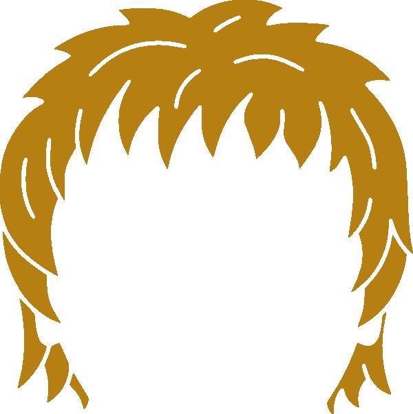 600x601 Hair Clip Art