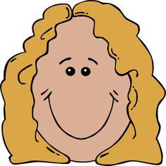 235x236 Cartoon Girl With Long Yellow Hair Clip Art Cclip Art