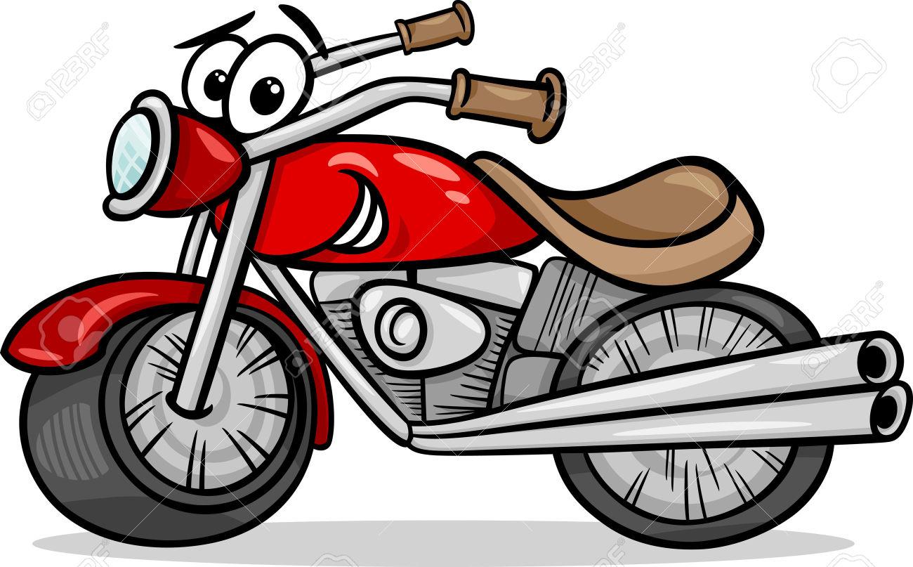 1300x807 Cartoon Motorcycle Clipart 101 Clip Art