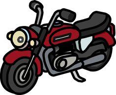 236x194 Harley Davidson Motorcycle Cartoon Clip Art Clipart