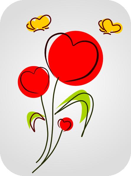 444x596 Flower 15 Clip Art