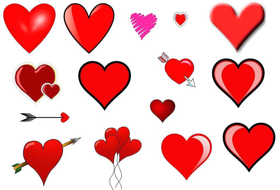 958x649 Free Clip Art Of Hearts Free Stock Photos Clip Art Hearts Free