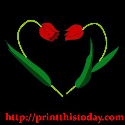 417x417 Free Hearts Clip Art