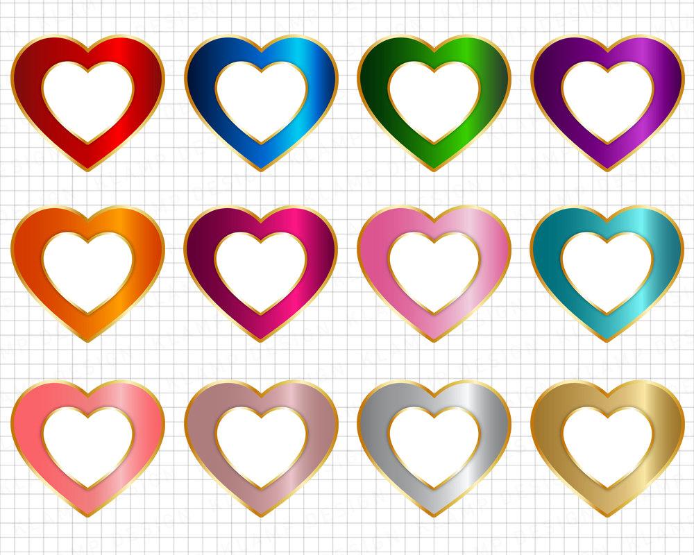 1000x800 Heart Clipart Digital Heart Clipart Love Clip Art, Digital