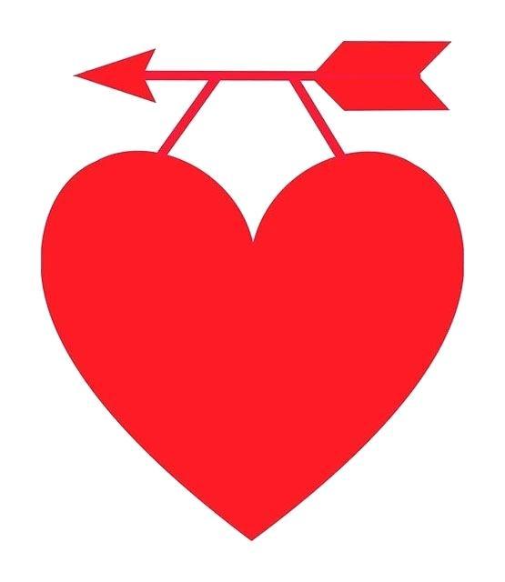 555x640 Free Clip Art Of Hearts Classroom Free Heart Clip Art A Red Heart