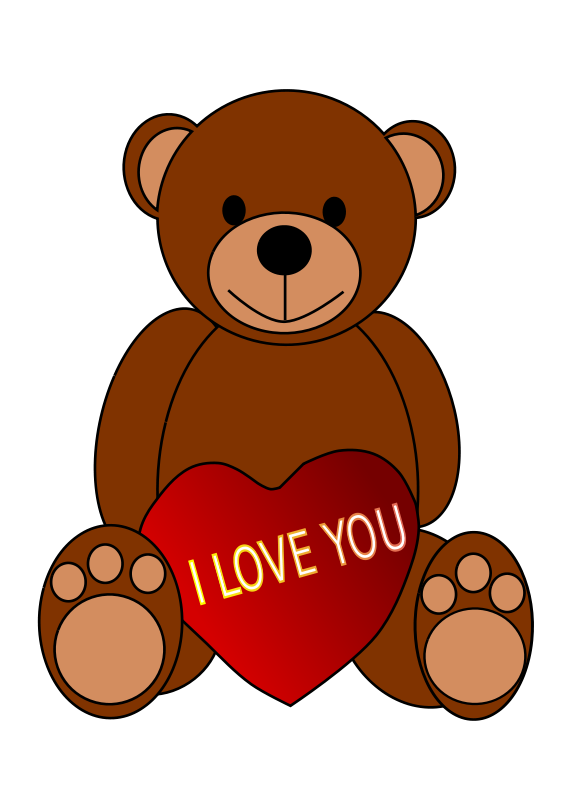 566x800 I Love You Clipart Animated Clipart Panda