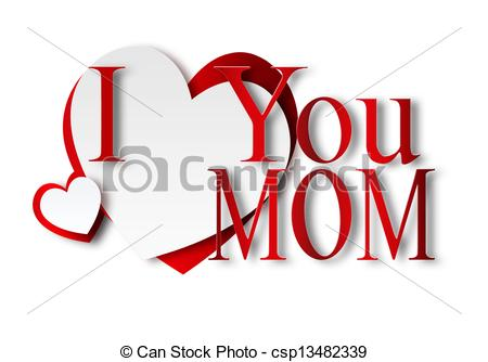 450x334 Love You Mom Clipart