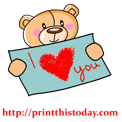 417x417 I Love You Clipart I Love You Clipart Clipart Panda Free Clipart