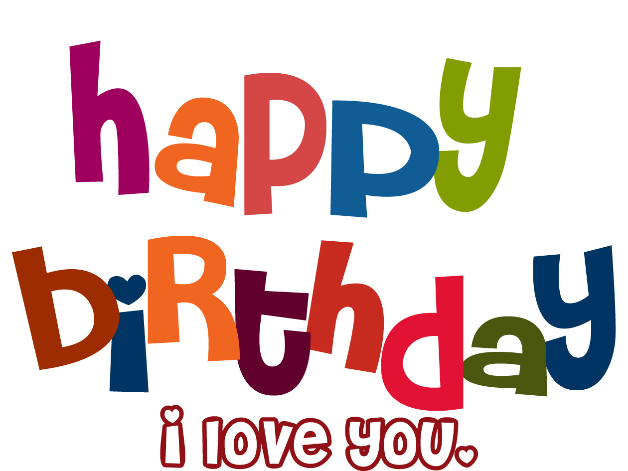 1260x945 Birthday Love Clip Art