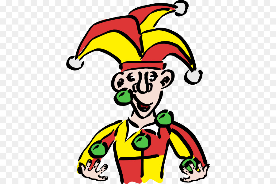 900x600 Joker Middle Ages Jester Clip Art