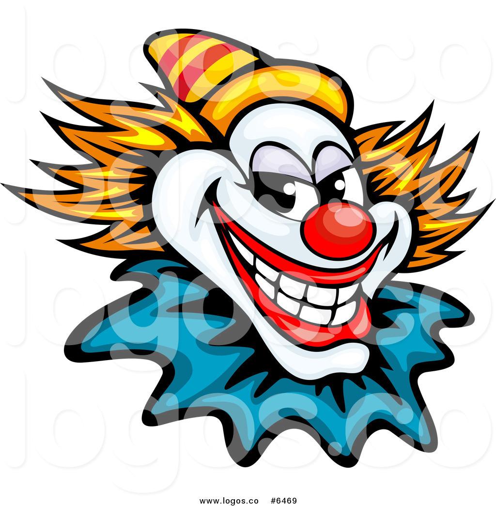 1024x1044 Royalty Free Cliprt Vector Logo Ofn Evil Clown Or Joker