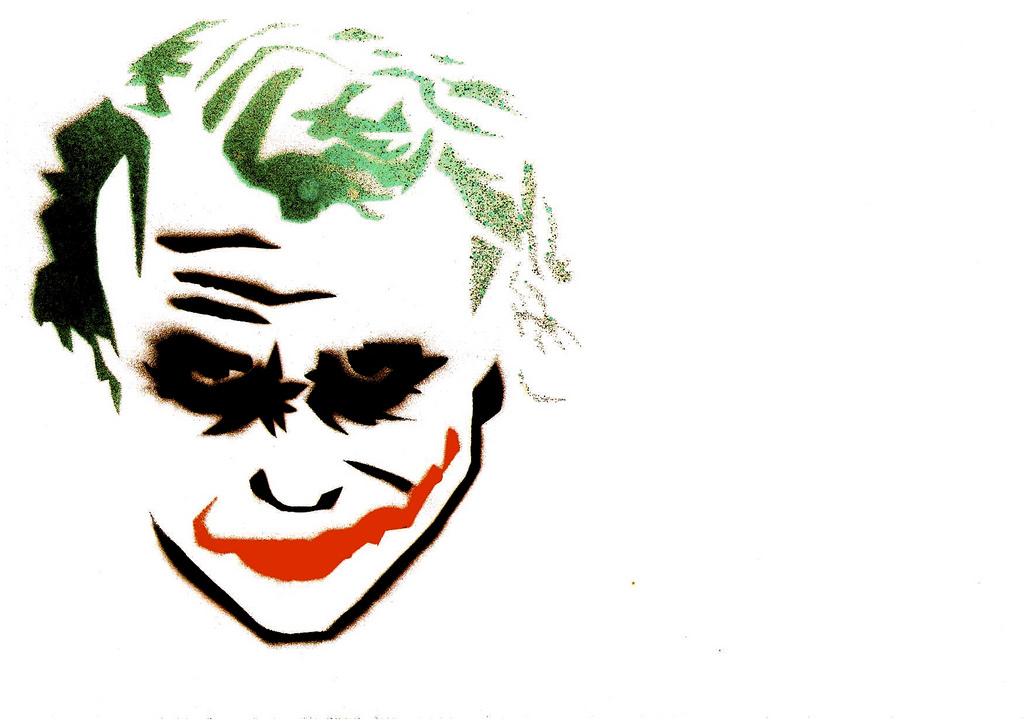 1024x723 Joker Stencil