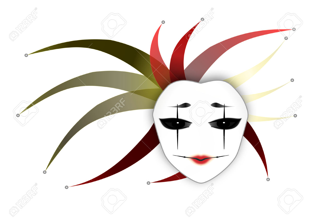 1300x920 Mysterious Woman Clipart