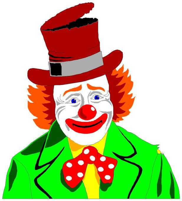 617x681 Clip Art Entertainment Clowns