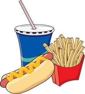 Clipart Of Junk Food