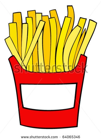 338x470 Junk Foods Chips Clipart