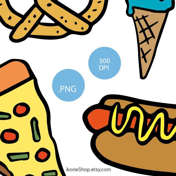570x570 Junk Food Clipart