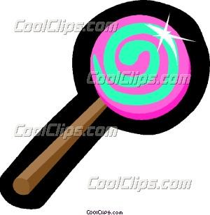 300x308 Lollipops Clip Art