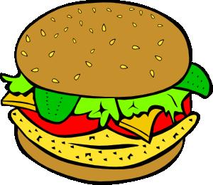 300x260 Fast Food Lunch Dinner Ff Menu Clip Art