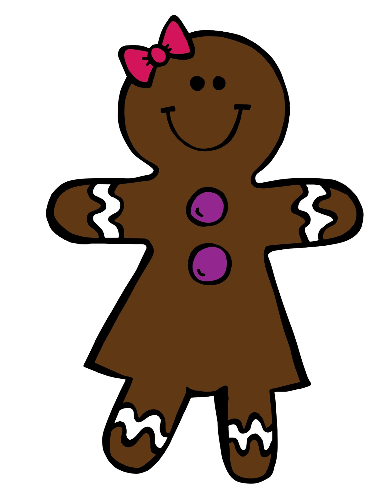 1231x1600 Gingerbread Clipart Men And Woman
