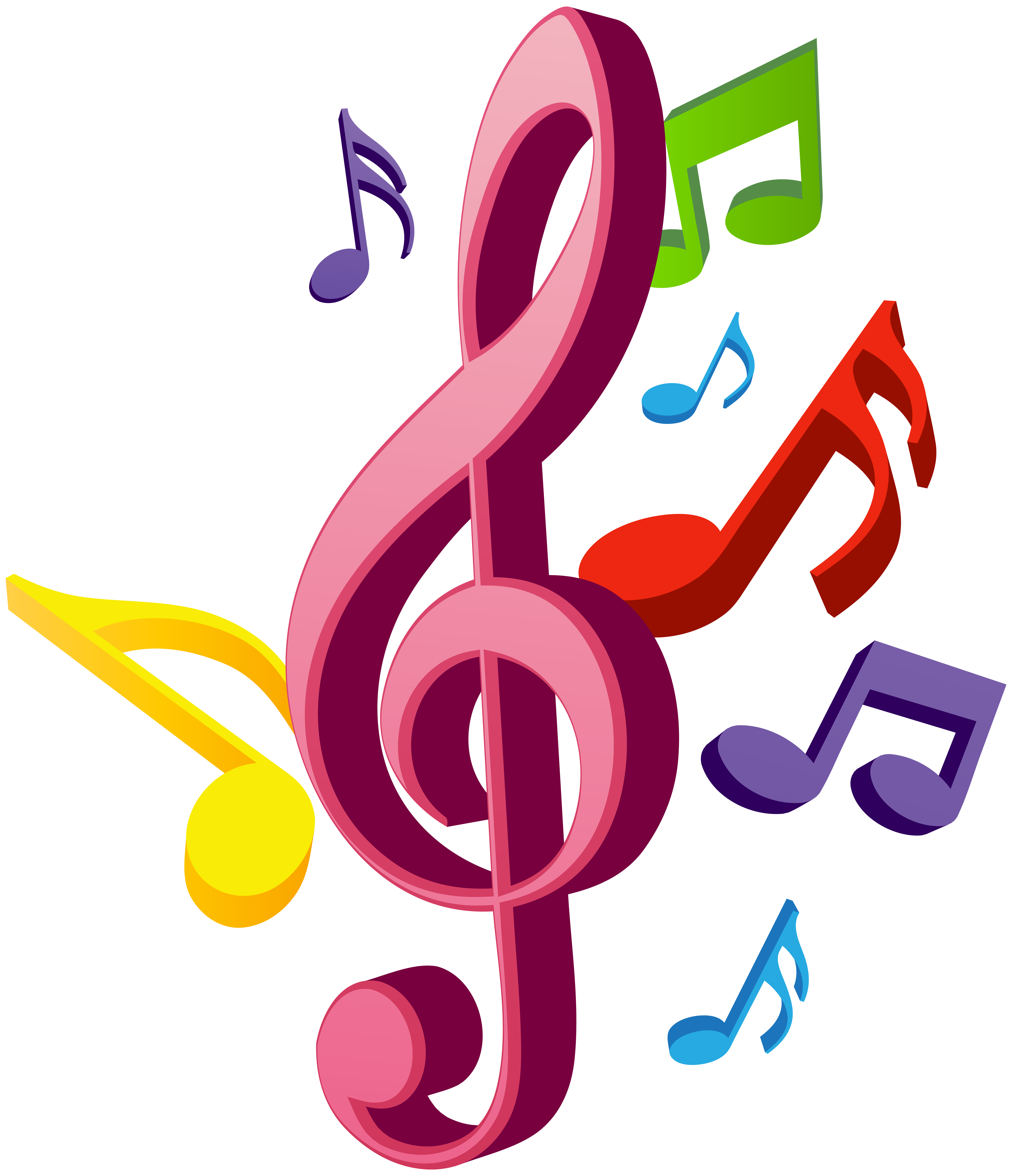 6882x8000 Music Notes Png Clip Artu200b Gallery Yopriceville