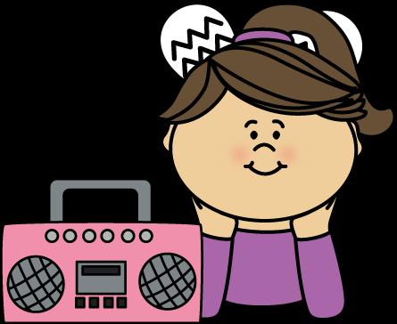445x364 Listening To Music Clipart Girl Listening To Music Clip Art Girl