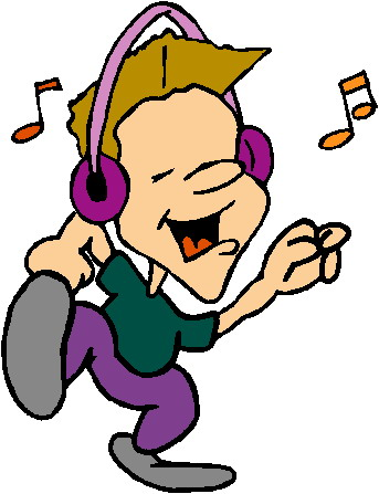 343x447 Listening To Music Clipart Listening To Music Clip Art Picgifs
