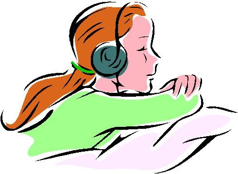 490x358 Clip Art Activities Listening To Music