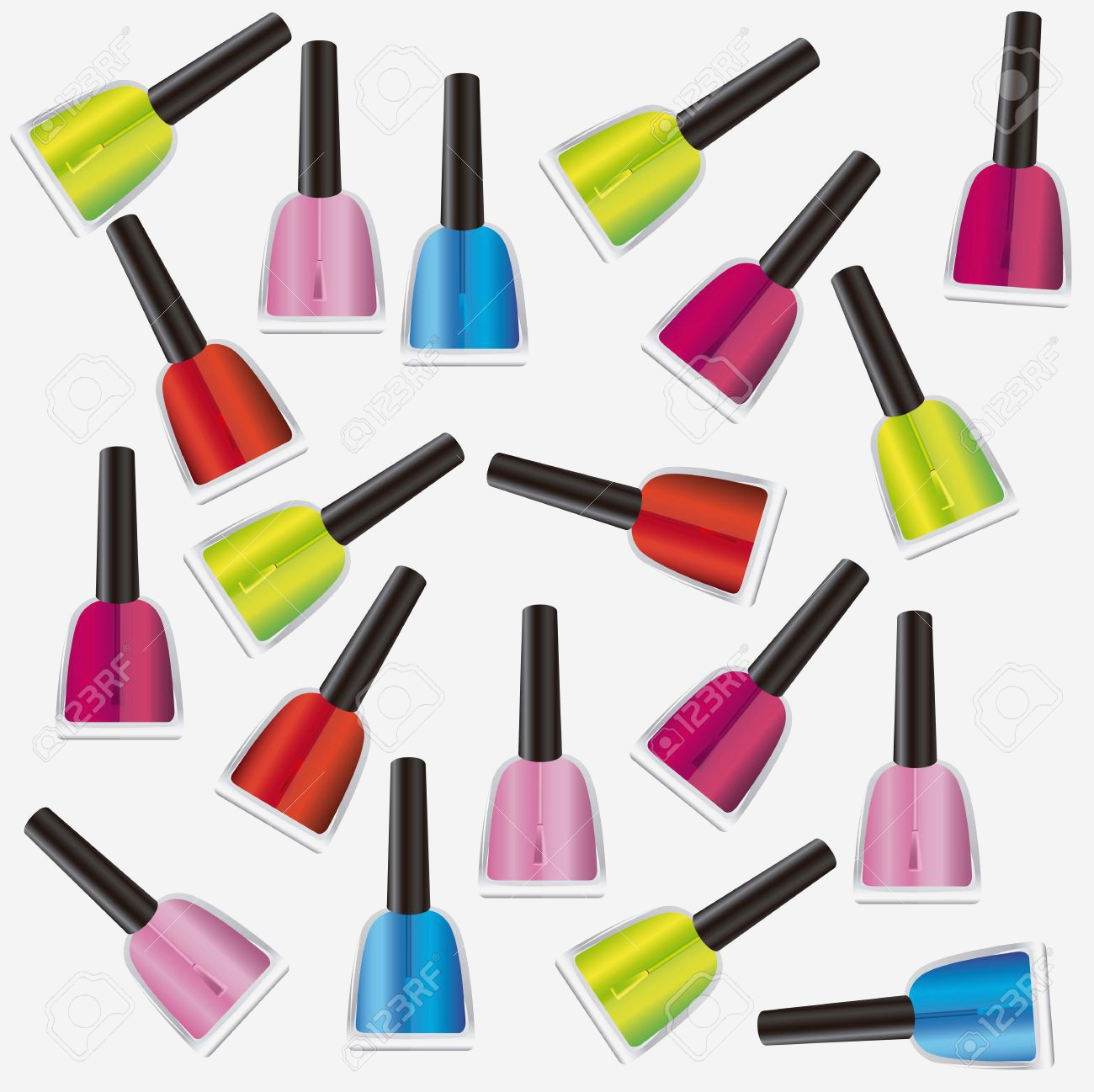 Clipart Of Nail Polish At Getdrawings Free For Personal Use