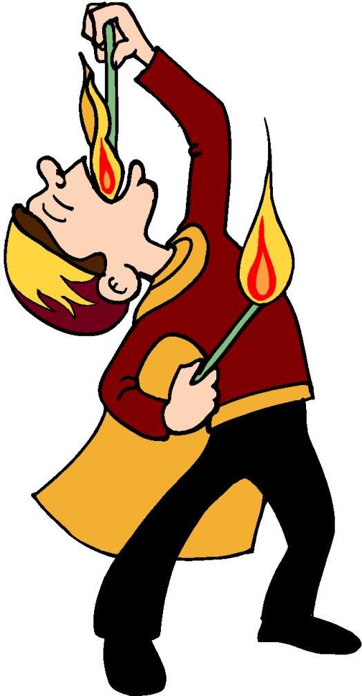 524x1007 Fire Dancing Clipart