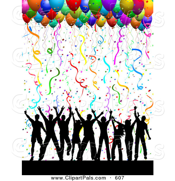 600x620 Party Clipart Dancing