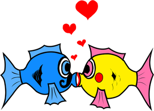 300x216 30000 Cartoon Clip Art Of Old People Kissing Public Domain Vectors