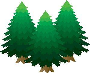 300x244 Alpine Tree Clip Art Clipart