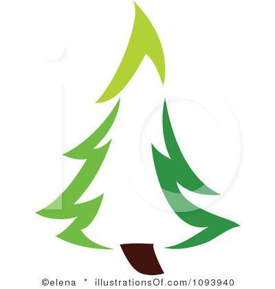 400x420 Clip Art Pine Trees Black And White Clipart Panda