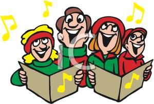 300x203 People Singing Clipart