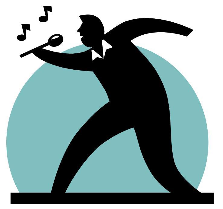 739x693 Singer Clipart Logo