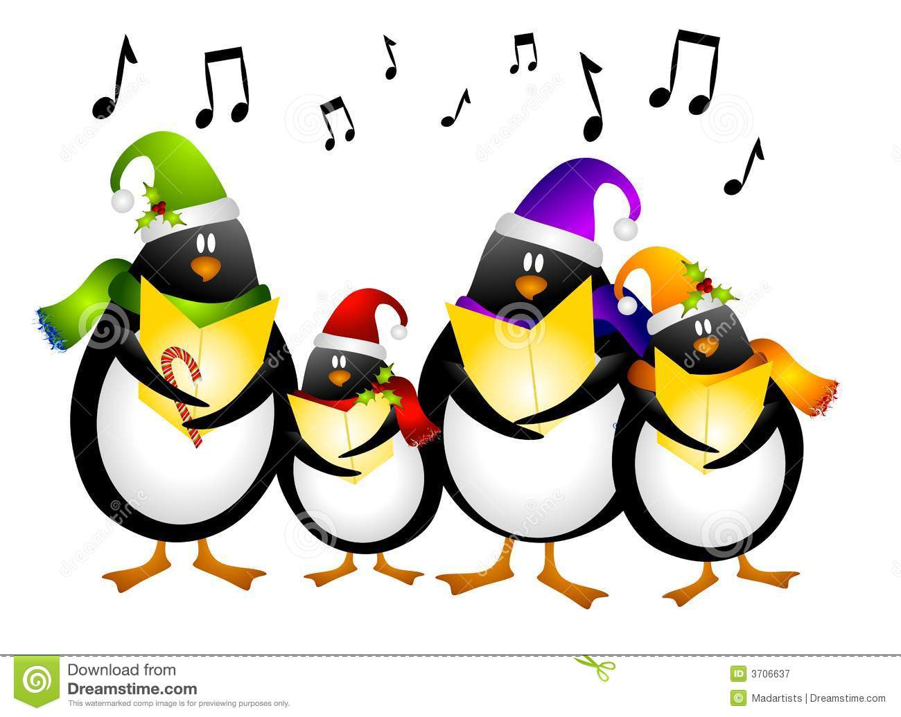 1300x1035 Christmas Singing Clipart